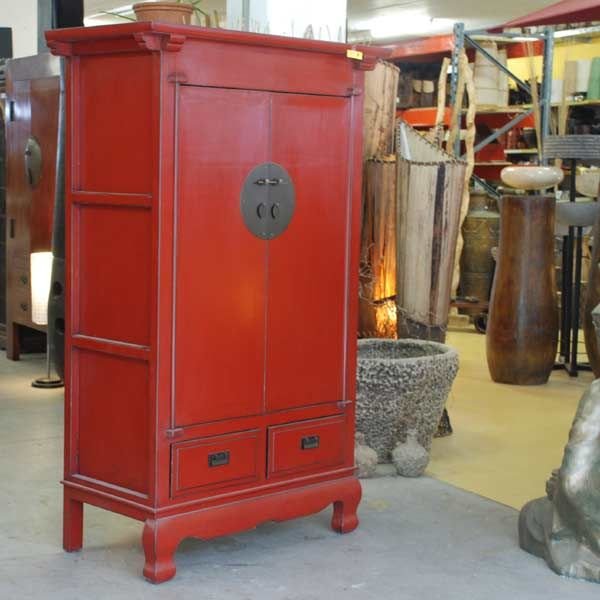 Canton Cabinet Red