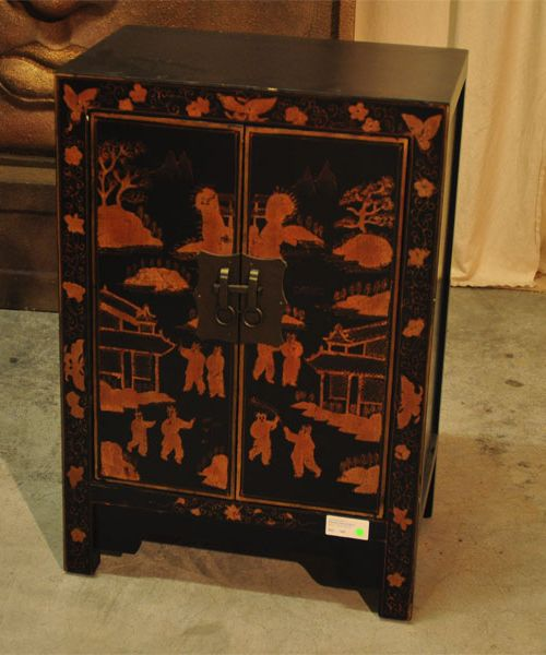 Painted Cabinet Black B