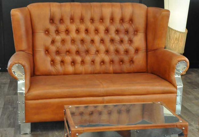 Sofa Oxford Steel